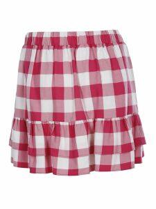 Love Moschino Checked Mini Skirt