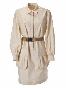 Fendi Belted Shirt Dress