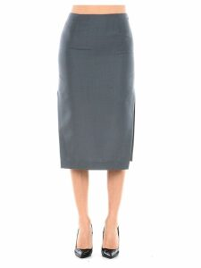 Prada Midi Skirt With Side Slit