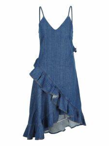 Kenzo Kenzo Denim Ruffled Dress
