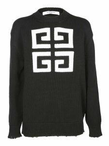 Givenchy Logo Knit Sweatshirt