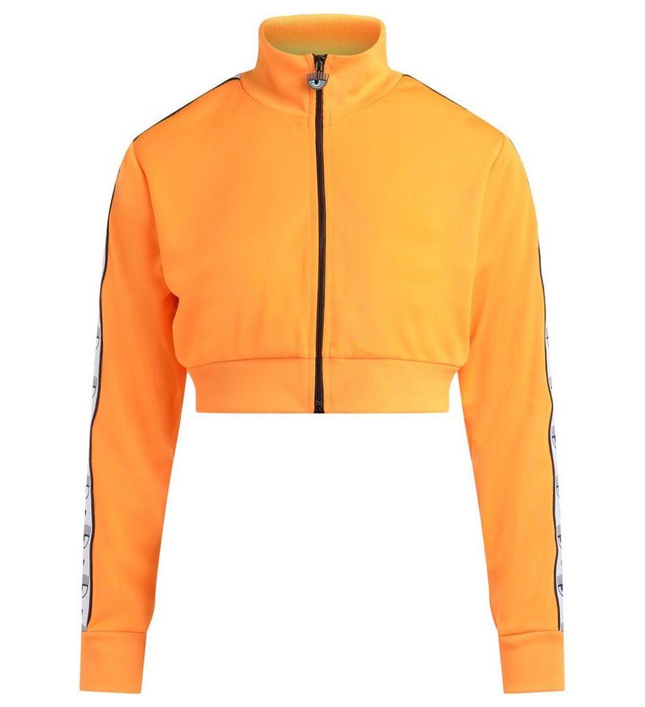 Chiara Ferragni Logomania Orange Fleece