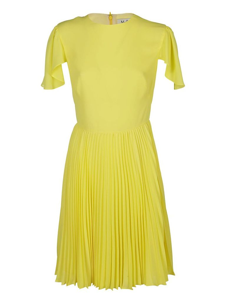 Mulberry Pleated Dress