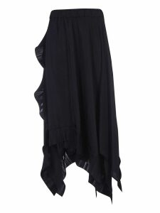 Parosh Frilled Skirt