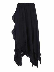 Parosh Frilled Skirt