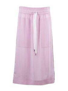 N.21 Pink Silk Blend Skirt