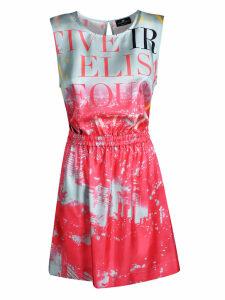 Elisabetta Franchi For Celyn B. Printed Mini Dress