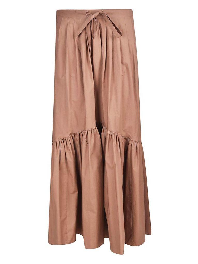 Weekend Max Mara Flared Applique Skirt