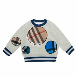 Burberry Check Sweatshirt