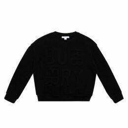 Burberry Embossed Logo Sweatshirt