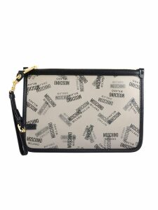 Moschino Medium Pouch With Logo
