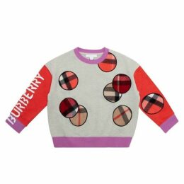 Burberry Cotton & Cashmere Sweatshirt