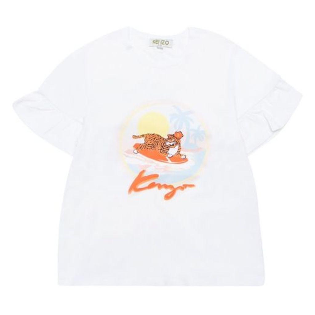 Kenzo Tiger Sunset T-shirt
