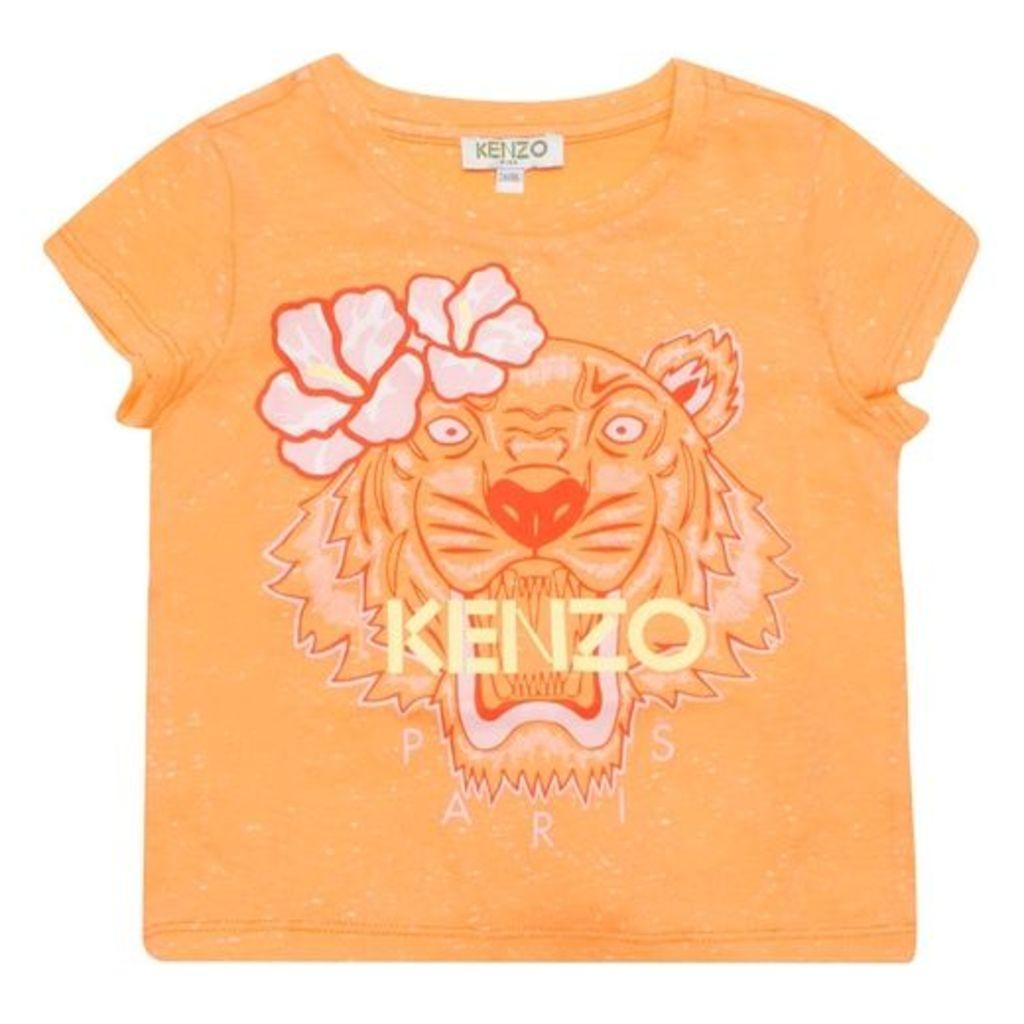 Kenzo Orange Tiger T-shirt
