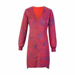 Secteur 6 - Red Drops Embroidered Dress