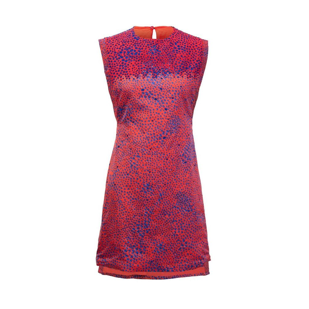 Secteur 6 - Hand Embroidered Red Dress