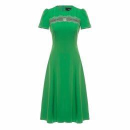 Nissa - Lace Insert Dress