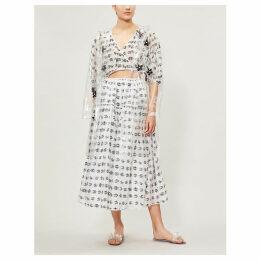 Moncler Genius x Simone Rocha PVC coat