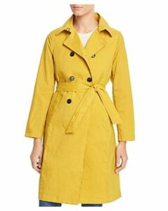 Jane Post Crinkled Trench Coat