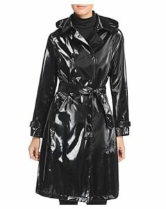 Jane Post High Gloss Trench Coat