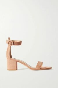 Christopher Kane - Lamé Trench Coat - Petrol