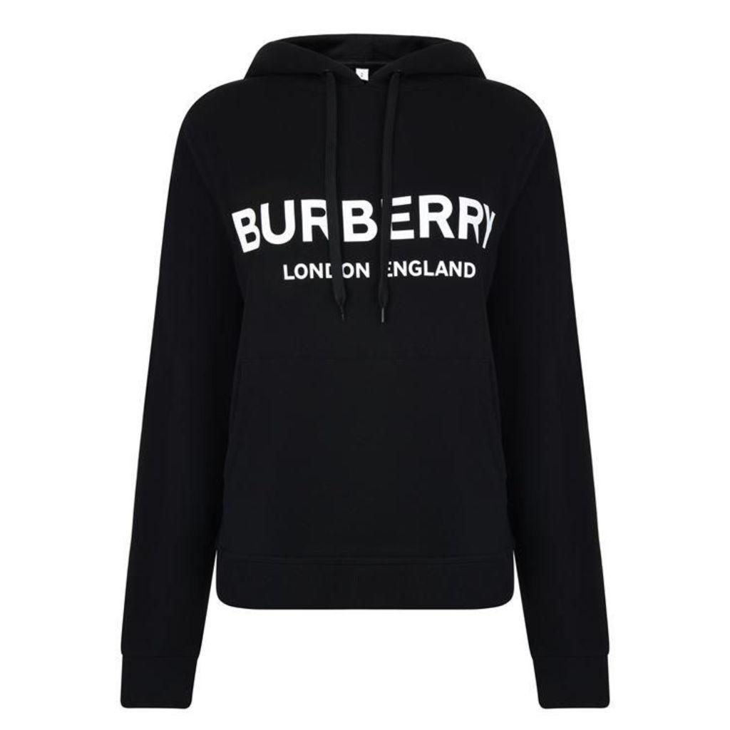 BURBERRY Logo Hooded Sweatshirt