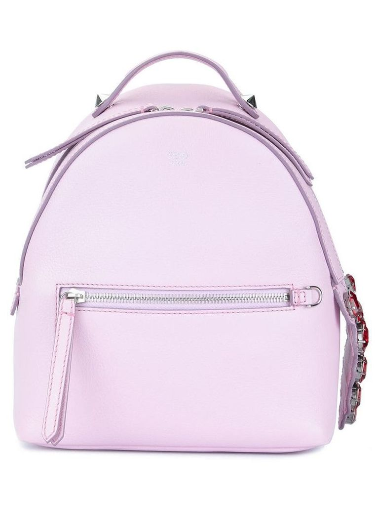 Fendi Vintage Mini Leather By The Way Backpack - Pink