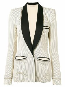 Balenciaga Pre-Owned 2000's striped blazer - White