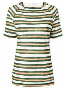 Louis Vuitton Pre-Owned 2000's striped T-shirt - Green