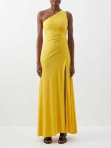 Belize - Elisa Checked Tie Shoulder Cotton Dress - Womens - Red Multi