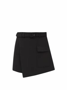 Zazi Vintage - Suzani Embroidered Shearling Coat - Womens - Cream Multi