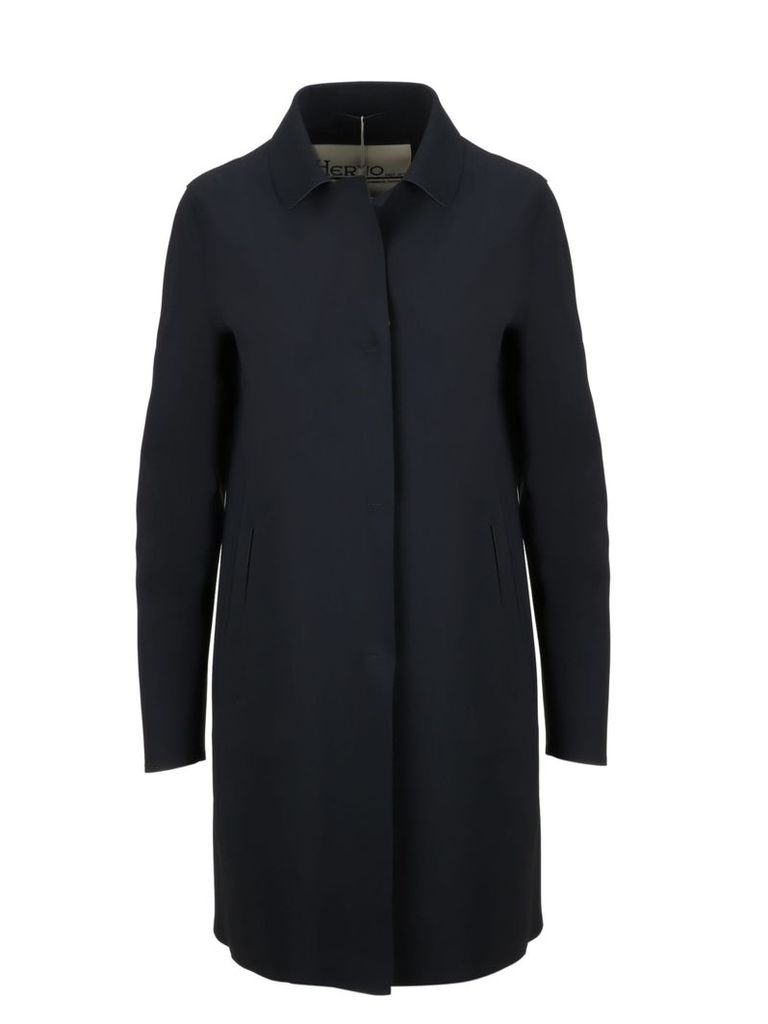 Herno Mid-length Concealed Coat