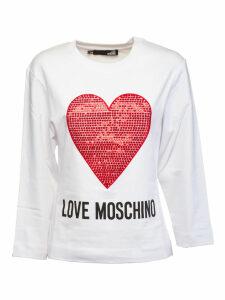 Love Moschino Heart Sweatshirt