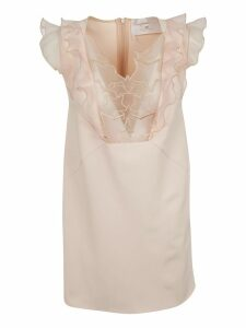Elisabetta Franchi For Celyn B. Ruffled Detailed Dress