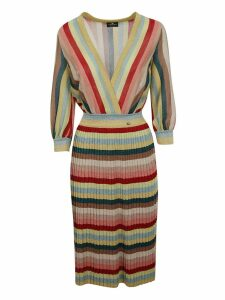 Elisabetta Franchi For Celyn B. Striped Dress