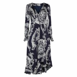Stine Goya Freesia Printed Satin Dress