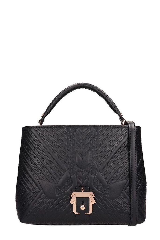 Paula Cademartori Black Leather Mae Petel