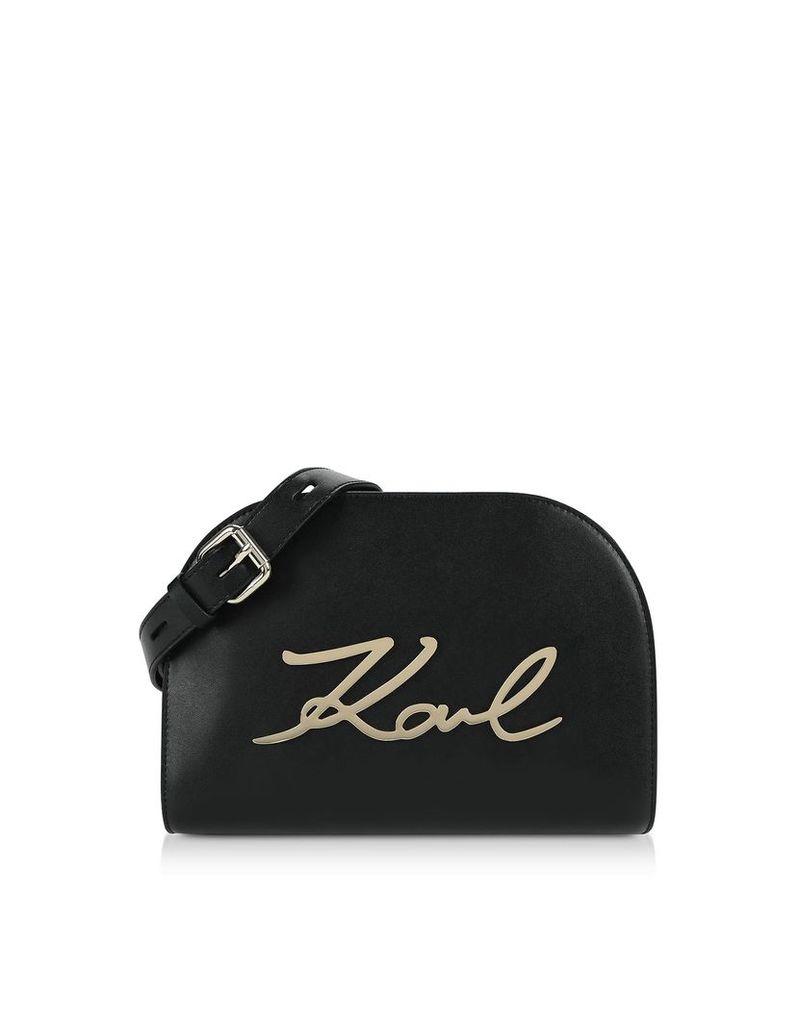 Karl Lagerfeld K/signature Large Crossbody Bag