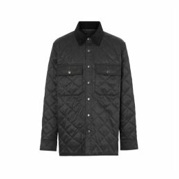 Burberry Diamond Quilted Thermoregulated Overshirt