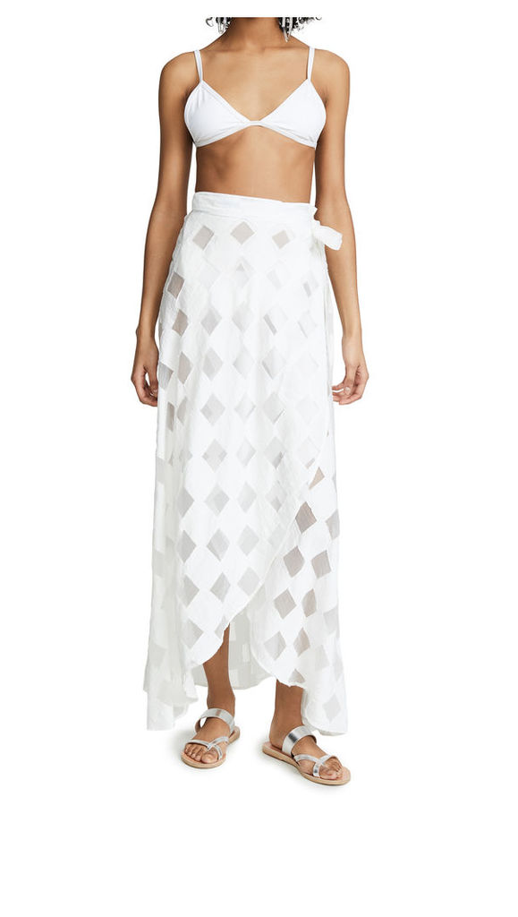 Onia Amanda Wrap Skirt