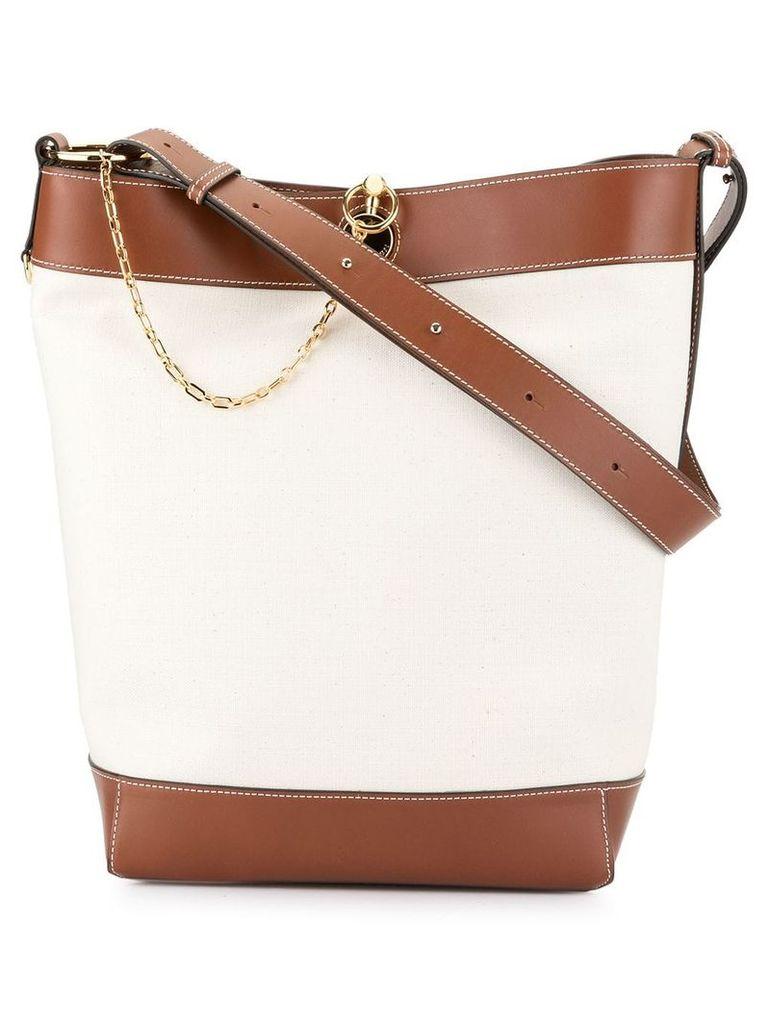 JW Anderson chain shoulder bag - Neutrals