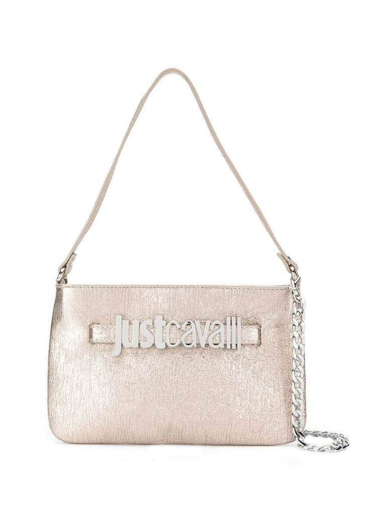 Just Cavalli rose gold tote bag - Neutrals