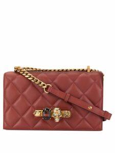 Alexander McQueen Jewelled satchel - Red