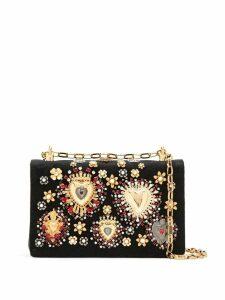 Dolce & Gabbana Devotion embellished shoulder bag - Black