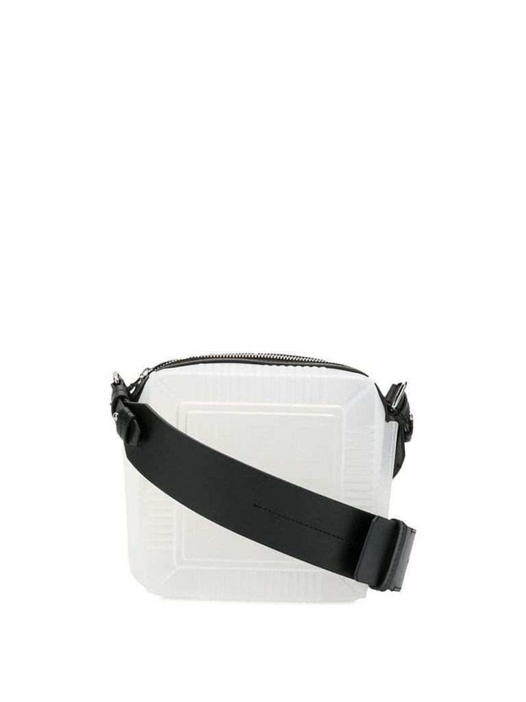 Kenzo cler square crossbody - White