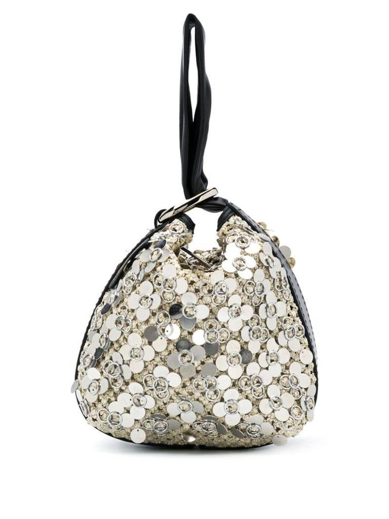 3.1 Phillip Lim Ines Triangle pouch - White