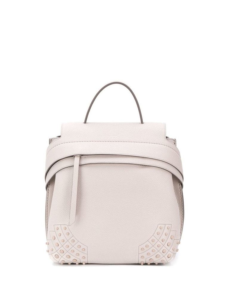Tod's Wave backpack - Grey