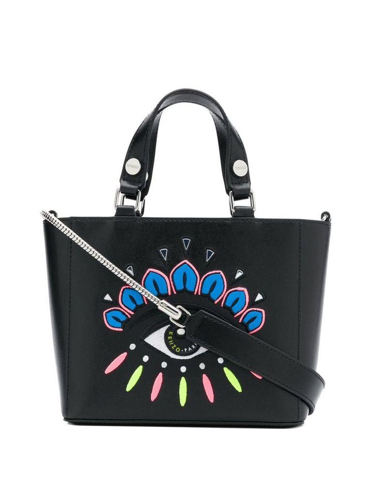 Kenzo small Eye tote bag - Black