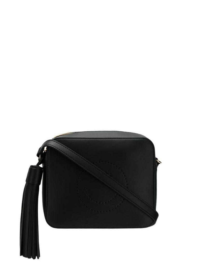 Anya Hindmarch Smiley crossbody bag - Black