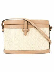 Hunting Season mini cross-body box bag - Neutrals
